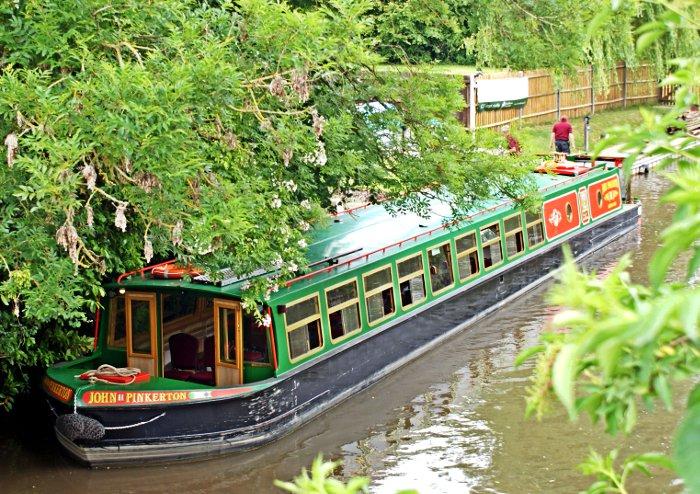 Odiham Canal Boat